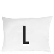 Design Letters Pillowcase - 70x50 cm - L