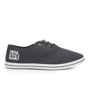 Henleys Men's Stash Canvas Pumps - Charcoal