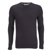 Pull Brave Soul pour Homme Warren Roll -Marine