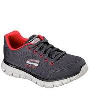 Skechers Kids' Synergy Fine Tune Trainers - Charcoal