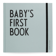 Design Letters Kids' Collection Baby's First Book - Turquoise