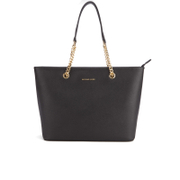 MICHAEL MICHAEL KORS Women's Jet Set Travel Chain TZ Tote Bag - Black