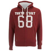 Tokyo Laundry Men's Goodlow Zip Through Hoody - Oxblood