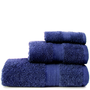 Restmor Knightsbridge 100% Egyptian Cotton 3 Piece Towel Bale Set (500gsm) - Navy