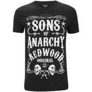 Sons of Anarchy Mens Original T-Shirt - Zwart