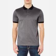 HUGO Men's Devron Short Sleeve Polo Shirt - Dark Grey
