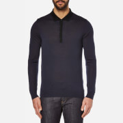 HUGO Men's Seven Knitted Top - Black
