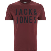 Jack & Jones Men's Core Sharp T-Shirt - Port