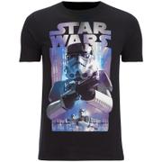 Star Wars Herren Storm Troopers T-Shirt - Schwarz