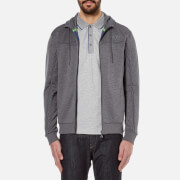 BOSS Green Men's Saggy Zipped Hoody - Medium Grey