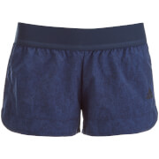 adidas Women's Moonwash Training Shorts - Navy