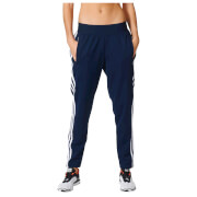 adidas Women's 3-Stripes Tapered Training Pants - Navy