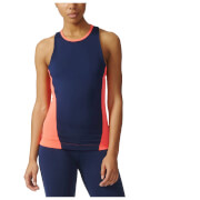 adidas Women's Stella Sport Easy Training Tank Top - Blue/Pink