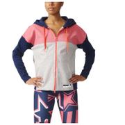 adidas Women's Stella Sport Full Zip Hoody - Red