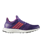 adidas Women's Ultra Boost ST Running Shoes - Purple