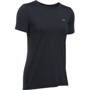 Under Armour Women's HeatGear Armour Short Sleeve T-Shirt - Black