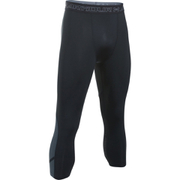 Under Armour Men's HeatGear SuperVent 3/4 Leggings - Black/Stealth Grey