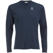 Haglofs Men's Return Long Sleeve Top - Deep Blue
