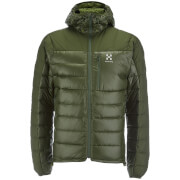 Haglofs Men's Bivvy Down Hooded Jacket - Nori Green