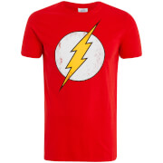 DC Comics The Flash Männer T-Shirt - Rot