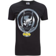 DC Comics Herren Batman Coin T-Shirt - Schwarz