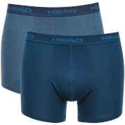 Head Men's 2-Pack Boxers - Blue Heaven