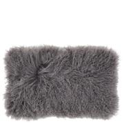Broste Copenhagen Tibetan Sheepskin Cushion - Smoked Pearl