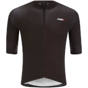PBK Stelvio Water Repellent Short Sleeve Jersey - Black