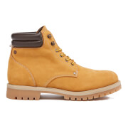 Jack & Jones Men's Stoke Nubuck Worker Boots - Honey