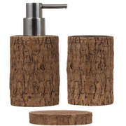Sorema Woody Bathroom Accessories (Set of 3)