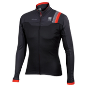 Sportful BodyFit Pro Windstopper Jacket - Black/Grey