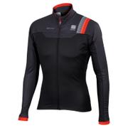 Sportful BodyFit Pro Windstopper Jacket - Black/Grey