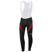 Sportful Men's Giro 2 Bib Tights - Black/Red