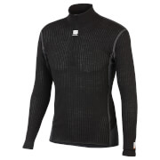 Sportful Sotto Zero Long Sleeve Base Layer - Black