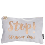 nails inc. Stop! Glamour Time Cosmetic Bag
