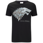 Game of Thrones Stark Sigil Heren T-Shirt - Zwart