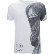 The Walking Dead Mens Dixon T-Shirt - Wit