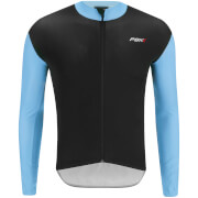PBK Stelvio Water Repellent Long Sleeve Jersey - Light Blue