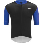 PBK Stelvio Water Repellent Short Sleeve Jersey - Navy Blue