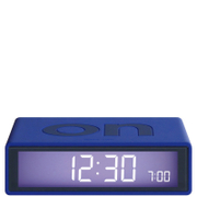 Lexon Flip Clock - Blue