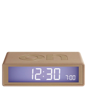 Lexon Flip Clock - Gold