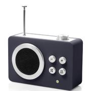 Lexon Mini Dolmen Radio - Black