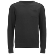 Dissident Men's Clere Pique Sweatshirt - Black