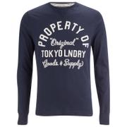 Haut Tokyo Laundry pour Homme Rowe Creek -Bleu