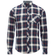 Tokyo Laundry Men's Callaghan Flannel Long Sleeve Shirt - Red