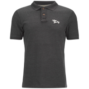 Tokyo Laundry Men's Willowood Polo Shirt - Charcoal Marl