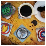 Dessous de Verres 3D et Lenticulaires Marvel