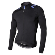 Nalini Pro Gara Ti Long Sleeve Jersey - Black/Blue