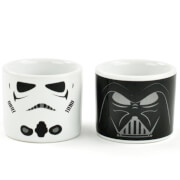 Star Wars Stormtrooper & Darth Vader Egg Cups (Set of 2)