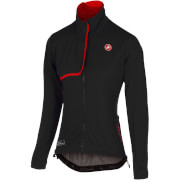 Castelli Women's Indispensible Jacket - Black/Red